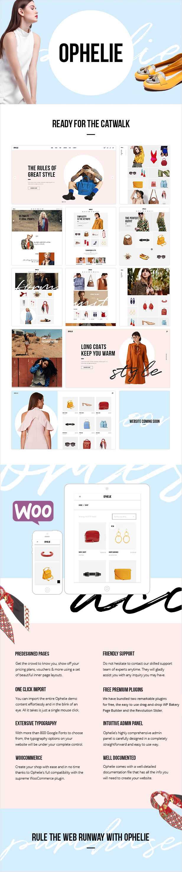 Ophelie - WooCommerce Theme for Fashion Shops, Stores and Brands - 1 ophelie - fashion shop theme nulled free download Ophelie – Fashion Shop Theme Nulled Free Download 01a